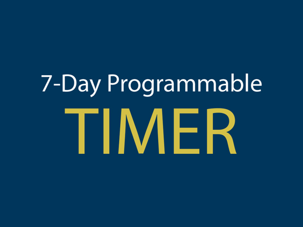 7-Day Programmable Timer